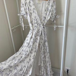 Adored Vintage Romantic Floral Dress